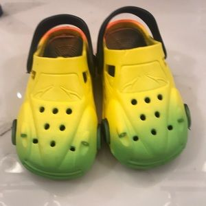 Other - Kids slip on race car shoes